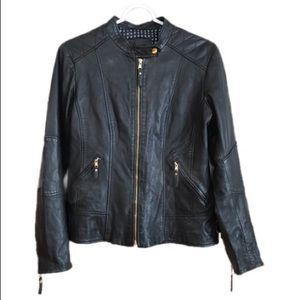 Danier Black Leather Jacker